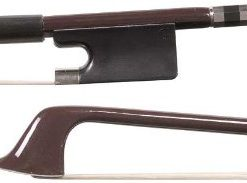 Glasser Standard 4/4 Cello Brown Fiberglass Bow with White Hair